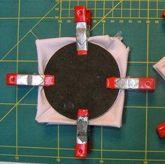 ...And Then We Set It On Fire: Shibori Folding - no 7