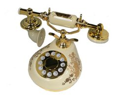 remembering  the old phone Cell Phone Recycling, Cell Phones For Seniors, Wholesale Cell Phones, Antique Phone, French Classic, Vintage Phones, Home Phone, Gold Pattern, Landline Phone