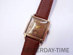 Bulova Franklin Men's Watch 1947 USA 17 Jewel by Yesterdaytime