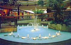 Spiral Ramp at Lehigh Valley Mall 1970's. We used to chuck pennies off the top into the fountains below!