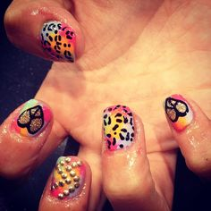 HOLIDAY MIX AND MATCH - @WAH Nails- #webstagram