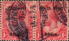 South West Africa 1923 Postage Dues SG 17 Fine Used SG 17 Scott 17 Other British Commonwealth Stamps for sale here