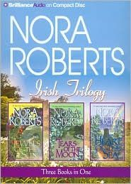 Nora Roberts Irish Trilogy: Jewels of the Sun, Tears of the Moon, Heart of the Sea. Currently reading the first book of this trilogy and so far it is very good :) I Love Books, Great Books, Books To Read, My Books, Nora Roberts Books, World Of Books, Film Music Books, Book Nooks, Love Reading