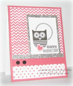 Gina's Little Corner of StampinHeaven: Hootin' Owl - Whooo's Your Valentine!