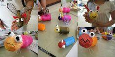 TP rolls Insect sculptures @ Allie......2 billion t.p. roll crafts on Toilet Paper Rolls & Cardboard Tubes