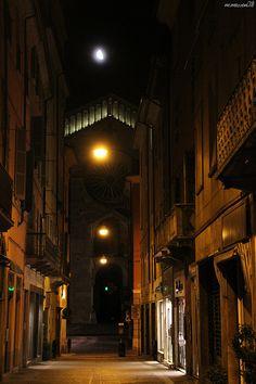 PIACENZA - il Duomo di notte