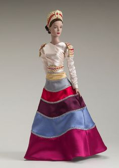 "Manufacturer's catalog image of 16"" Fantasia dressed doll, from the Théâtre de la Mode range. United States, 2004, by Robert Tonner."
