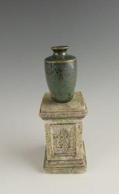 Objet D'art Miniature by Van T Potter Porcelain by VanTpotter Arts And Crafts House, Objet D'art, Porcelain Vase, Pottery Vase, Glaze, Miniatures, Van, Ceramics, Etsy