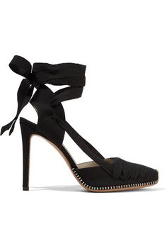 Altuzarra - D'orsay Canvas Pumps - Black - IT37.5