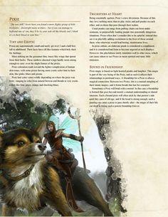 DnD Homebrew — Pixie Race by Polaroid Ninja Dungeons And Dragons Races, Dungeons And Dragons Classes, Dnd Dragons, Dungeons And Dragons Homebrew, Dnd 5e Races, D D Races, Fantasy Creatures, Mythical Creatures, Science Fiction