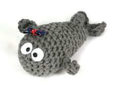 Fish crochet amigurumiCrochet Animal Crochet whale by SoutacheOOAK