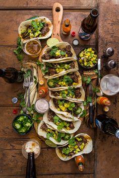 Barbacoa Beef Tacos with Homemade Tortillas Dennis The Prescott Mexican Food Recipes, Beef Recipes, Vegetarian Recipes, Cooking Recipes, Healthy Recipes, Shrimp Recipes, Wine Recipes, Party Food Platters, Good Food