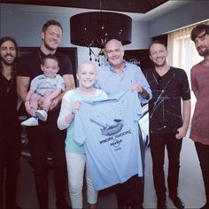 Imagine Dragons + fans backstage at their private concert at Hard Rock Hotel in Riviera Maya, Mexico (Jan. 20, 2015) (2)