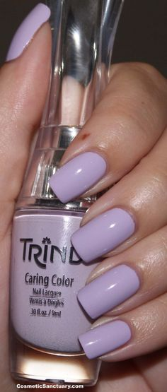 Trind Caring Color Nail Lacquer Swatches and Review | Cosmetic Sanctuary