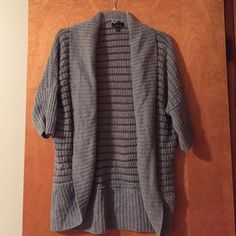 Gray Sweater... Gray 'oversized' Sweater...good condition Sweaters