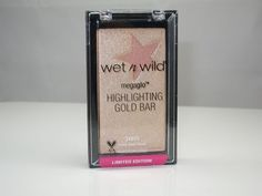 Wet n Wild Megaglow Highlighting Gold Bar Review & Swatches