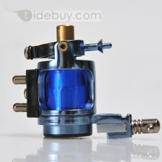 Delicate Blue Motor Tattoo Machine for Liner and Shader