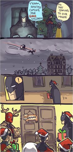 As much as I love everything about this, nothing tops Red Hood the Red Nose Reindeer.