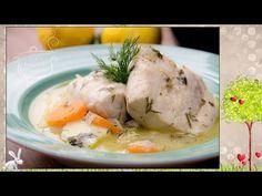Τέλειο λεμονάτο ψάρι - Fish lemon soup - YouTube Lemon Soup, Mashed Potatoes, Turkey, Cooking Recipes, Fish, Meals, Chicken, Ethnic Recipes, Youtube