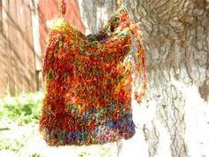 Fairy handbag sari silk