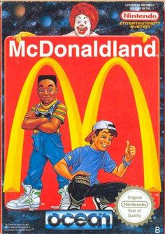 Called McDonaldland in Europe, M.C. Kids was the North American equivalent from Virgin Games.  Read more: http://www.8-bitcentral.com/reviews/nesMcKids.html#ixzz2r9NIzLtu