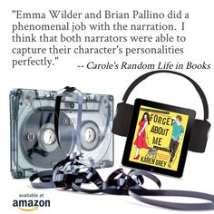 """""""...I also thought that the effects of the audio production were very well done. There was a sound of a tape either rewinding or fast-forwarding to signal the beginning or end of a flashback. It was really a perfect way to communicate those changes to the listener. I would highly recommend this book to fans of romance. I thought that this was a wonderful romance filled with great characters, a lot of chemistry, an adorable dog, and a lot of heart."""" Amazon Audible, Digital Review, Shakespeare Theatre, Character Personality, Pen Name, Vet Clinics, Letting Go Of Him, I Love Lucy, Ways To Communicate"""