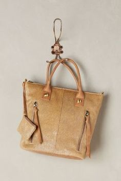Miss Albright Athena Calf Hair Tote #anthrofave