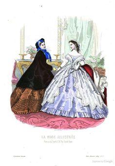 La Mode illustrée Feb 14, 1864: