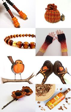 Gorgeous spicy colours from the #onfireteam a collection of #handmade goodies including #accessories #fineart #jewelry