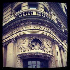 S Jarmulowsky's Bank. Orchard & Canal.