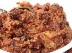 Breakfast Baked Apples & Granola  ~ Low Fat, Crockpot