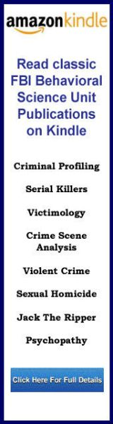 This particular Kindle collection consists primarily of the landmark articles written by members of the Behavioral Science Units, National Center for the Analysis of Violent Crime, at the FBI Academy. These seminal publications in the history of FBI profiling were released by the U.S. Department of Justice as part of the information on serial killers provided by the FBI's Training Division.