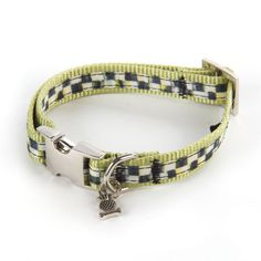 MacKenzie-Childs - Courtly Check Couture Pet Collar - Small
