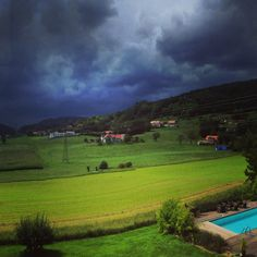 Heavy storm coming to the village. Graz Austria, Golf Courses, Places To Go, Travel, Trips, Viajes, Traveling, Outdoor Travel, Tourism