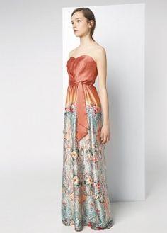Flowy drawstring dress - Dresses - Women - MANGO