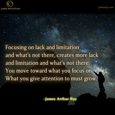 You move toward what you focus on.  #Blog #Resilience #LIVEBIG https://jamesray.com/forget-balance-choose-mastery/