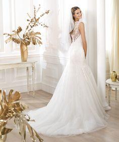 Pronovias presents the Lanice wedding dress. Fashion 2014.   Pronovias Love....