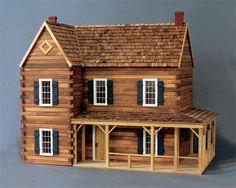 ponderosa doll house | Ponderosa Dollhouse Kit - The Magical Dollhouse
