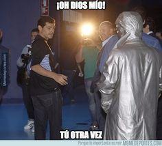 623826 - El reencuentro de Casillas con Mourinho