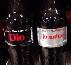 No don take my cokes guys don do it I worked hard to get these and now you want me to share them???? What    Tags: I don't even know - JJBA - Jonathan Joestar - Dio Brando -