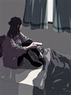 Sad Anime Girl, Anime Art Girl, Aesthetic Anime, Aesthetic Art, Scenery Wallpaper, Futuristic Art, Sad Art, Anime Scenery, Animes Wallpapers