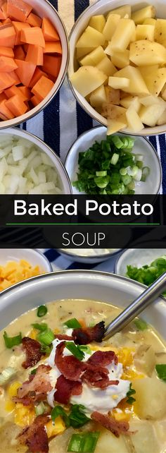 Sweet & gold potatoes combine perfectly in this hearty soup that's sure to warm the soul!   Clearly Organic Nutritionist Corner. #organic #nutrition #EatClean
