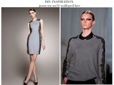 a pair and a spare . diy fashion: Jason Wu inspired