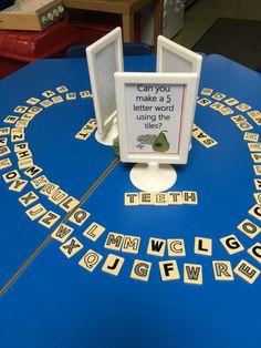 Early years foundation stage continuous provision activity - make words using the game 'pairs in pears'