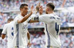 Ronaldo et Sergio Ramos Real Madrid 2016 / 2017 Adidas