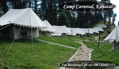 Camp Kanatal is arranged at 8,400 fts close Dhanaulti, Mussoorie at the separation of 300 Kms/8 hrs from Delhi/NCR. The delightful and pleasant 180 degree perspective of the snow clad Himalayas will fill you with a sentimental appeal. visit:  http://www.kanatalresorts.in/camp-carnival-kanatal.html