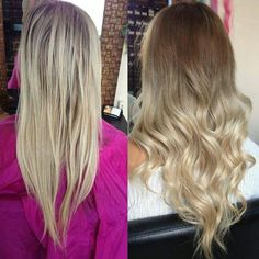 ash blonde ombre my fav kind of ombree =]