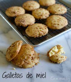 Galletas de miel, receta chilena / Honey cookies En Mi Cocina Hoy
