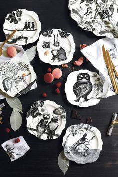 Wild Masquerade Platter - anthropologie.com