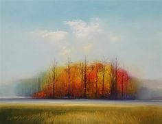 Love this oil painting from UGallery. Tree Line by George Peebles
